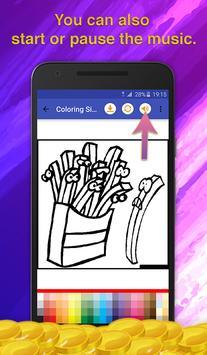 Fast Food Coloring Game screenshot 6