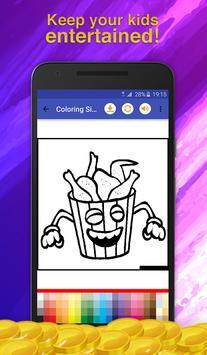 Fast Food Coloring Game screenshot 7