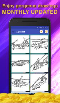 Helicopters Coloring Game screenshot 1