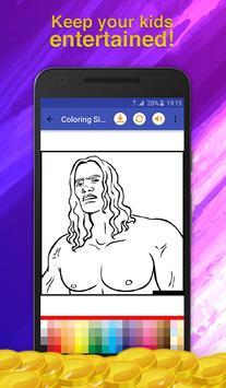 Heroes Cartoon Coloring Game screenshot 7