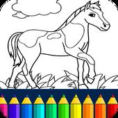 Horse Coloring Book icon