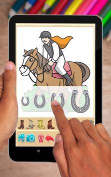 Horse Coloring Book screenshot 15