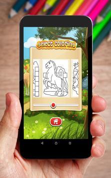 Horse Coloring Book screenshot 1