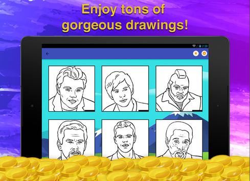 Actors Coloring Page screenshot 8