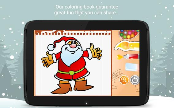 Christmas Coloring Book screenshot 13