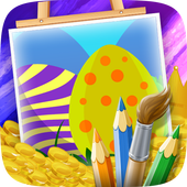 Easter Coloring Page icon