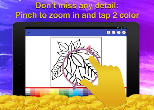 Flowers Coloring for Adults screenshot 10
