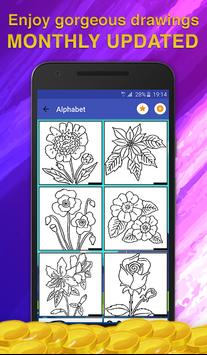 Flowers Coloring for Adults screenshot 1