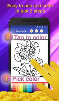 Flowers Coloring for Adults screenshot 2
