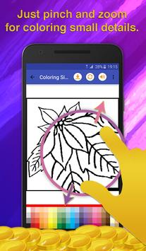 Flowers Coloring for Adults screenshot 3