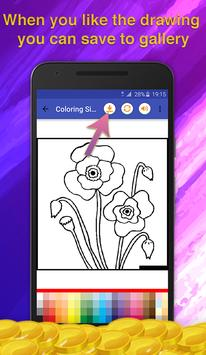 Flowers Coloring for Adults screenshot 4