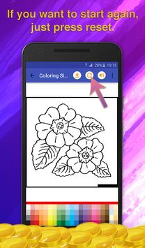Flowers Coloring for Adults screenshot 5