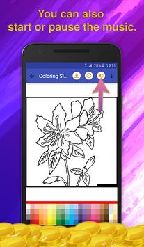 Flowers Coloring for Adults screenshot 6