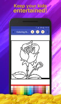 Flowers Coloring for Adults screenshot 7