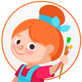 Coloring Pages for Kids icon