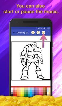 Superheroes Coloring for Kids screenshot 6