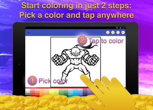 Superheroes Coloring for Kids screenshot 12