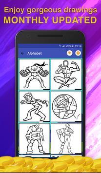 Superheroes Coloring for Kids screenshot 1