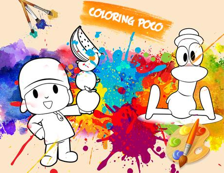 Coloring Poco Yoo Page Game poster
