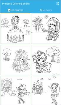 Princess Coloring Books poster