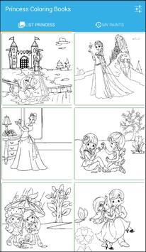 Princess Coloring Books screenshot 3