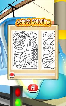 Train drawing game for kids and adults. apk screenshot