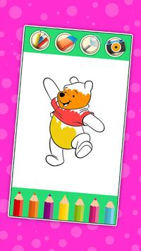 Coloring Book for Winie The Pooh apk screenshot