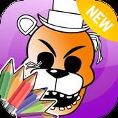 Freddy Five Nights Color Book icon