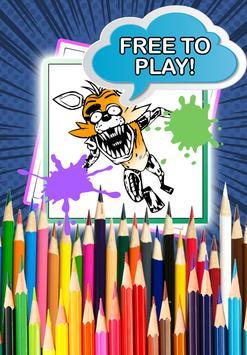 Freddy Five Nights Color Book screenshot 2