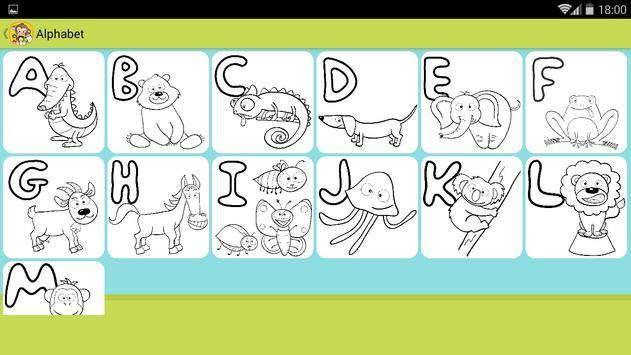 Kids Coloring book oggy screenshot 9