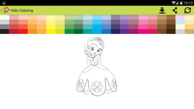 Kids Coloring book oggy screenshot 13