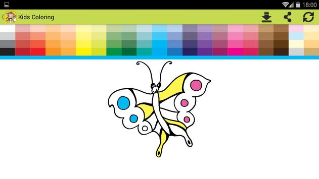 Kids Coloring book oggy screenshot 10