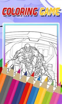 Coloring Guardian Of Galaxy Game apk screenshot