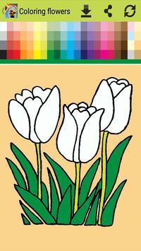 Adventure Coloring Flowers apk screenshot