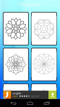 Mandala Coloring Book apk screenshot