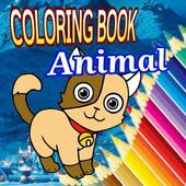 Coloring Book Animals icon