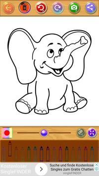 Coloring Book Animals screenshot 1