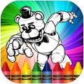 Coloring Pages For Five Nights