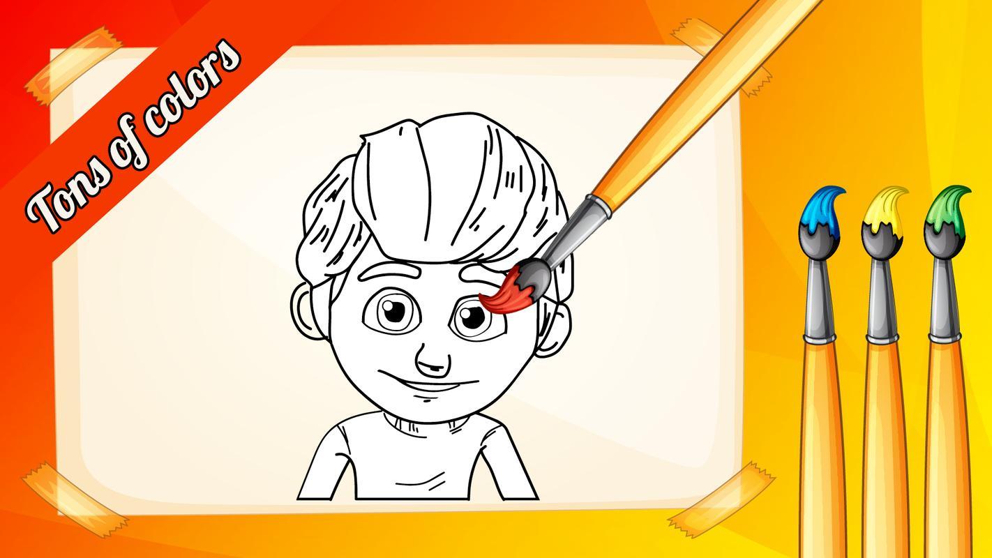 Rafadan Tayfa Boyama Oyunu For Android Apk Download