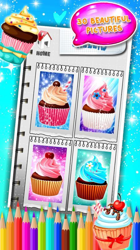 Buku Mewarnai Cupcake For Android Apk Download