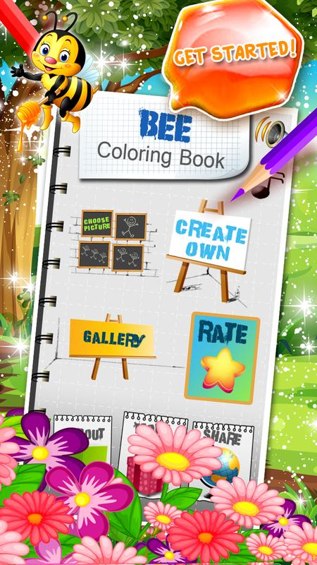 abeja para colorear libro for Android - APK Download