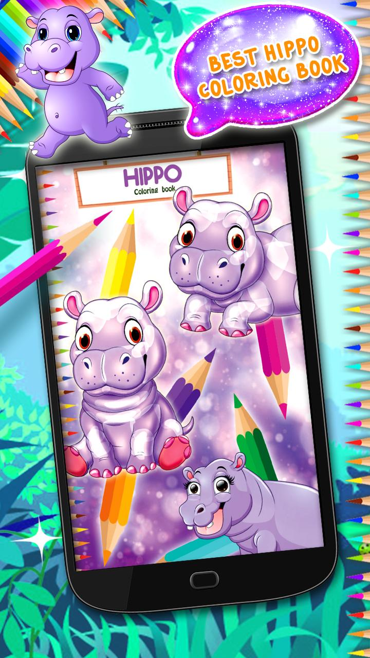 Buku Mewarnai Hippo For Android APK Download