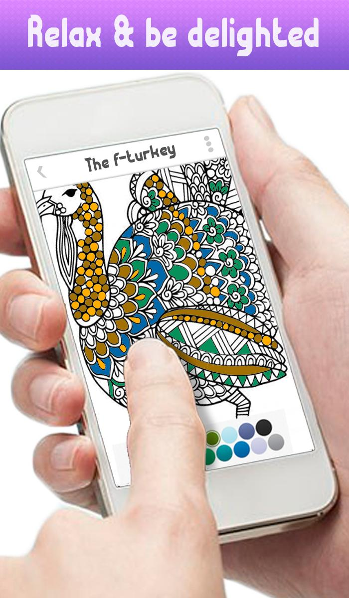 87 Colorfy Coloring Book For Adults - Free Apk Free Images