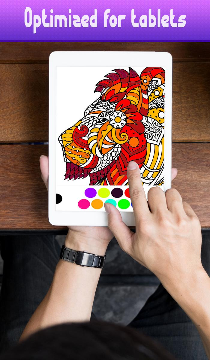 Colorfy Coloring Book For Adult 2019 poster