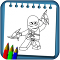 Ninja Coloring Drawing Book New Coloring Pages
