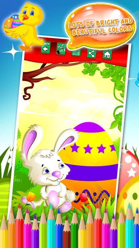 libro de colorear de Pascua Descarga APK - Gratis Casual Juego para ...