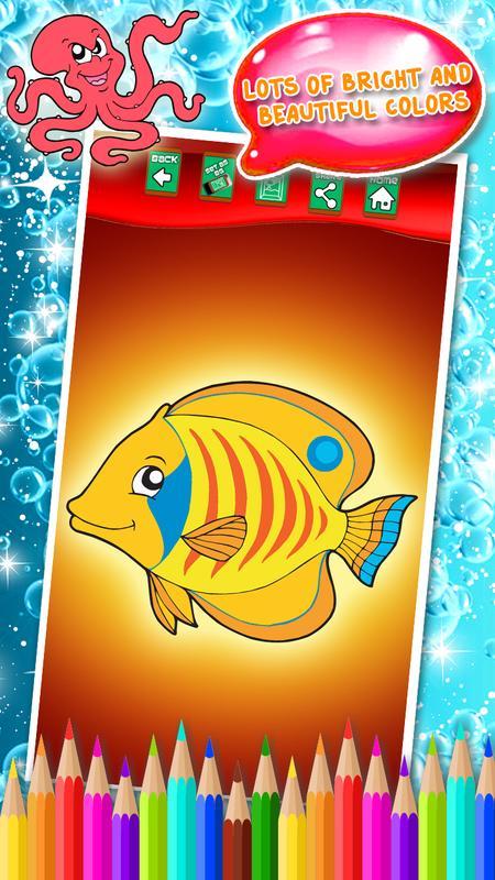 libro para colorear peces for Android - APK Download