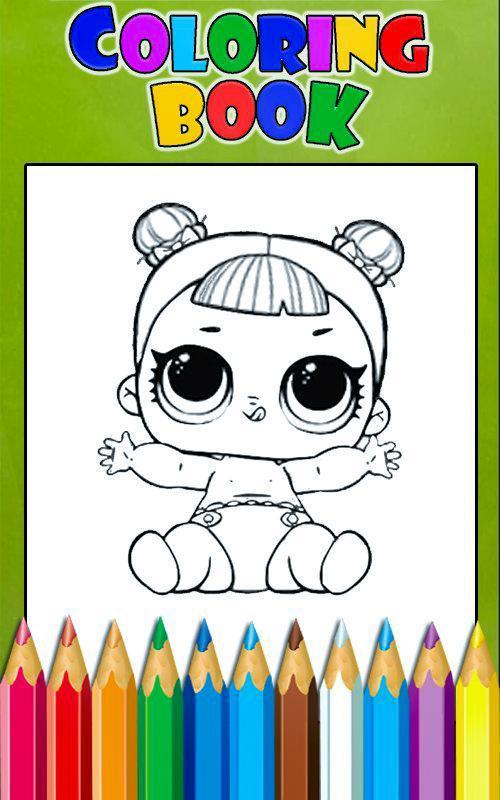 Libro de colorear para Surprise Dolls LOL Descarga APK - Gratis ...