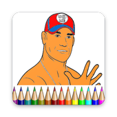 Coloring Book For WWE Champions 2K icon