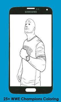 Coloring Book For WWE Champions 2K apk screenshot